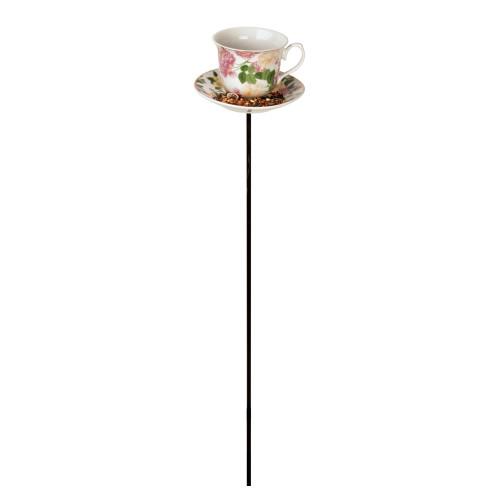 Vogelvoeder - Thee/koffie kopje - Pioen rozen